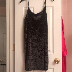Victoria Secret black velvet nightie